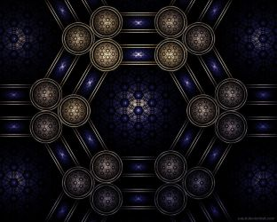 Royal Molecule II by Zueuk