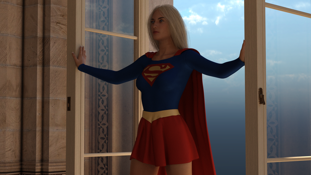 Supergirl trapped by Selena - 01 by rustedpeaces