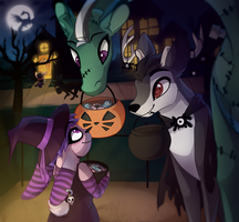 Trick or Treat by TheQueenOfNeckbeards