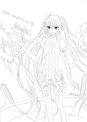 Hatsune Miku Append by IndhiraC72