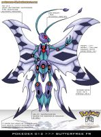 Pokedex 012 - Butterfree FR