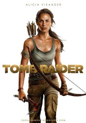 Tombraider Alicia Vikander by pbozproduction