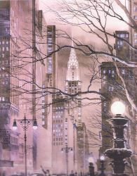 New York Streets by CHRlSTOPHER