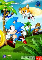 SONIC 3 16bits TRIBUTE by Witchking00