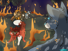 /The fire Scene/Redraw by Winelys-11