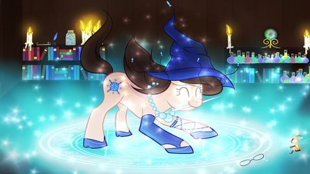 :Contest Entry: Wizdiana and Sorell by Felicity-Star