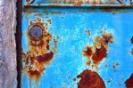 Rusty Old Door by cachealalumiere