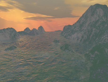 The Coasts of Nelanther by Nerialka