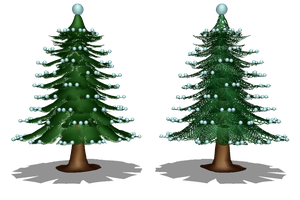[MMD] Accessories - Xmas Tree Type 01 (DL) by arisumatio