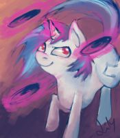 Scratchy by LilyPaints