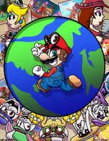 Hats Off to Mario! by UltimateStudios