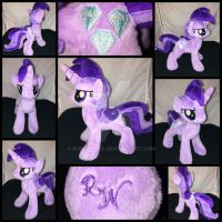 MLP 10 inch Amethyst Star Plushie ::Commission:: by RubioWolf