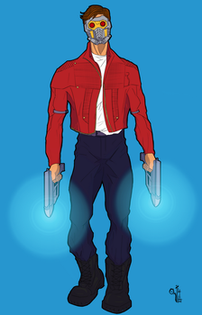 Star-Lord by Marc Maraya by Oj4breakfast