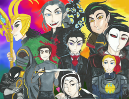 The Bad Guy Conglomerate 2014 by Strawberrylightning