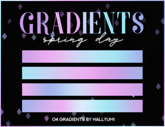 GRADIENTS: Spring Day by Hallyumi