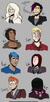 WitchHammer Crew by LulzyRobot