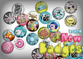 Bobsmade Badge Sets by Bobsmade