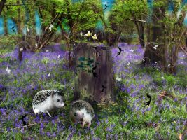 Enchanted Forest 4 by LindArtz