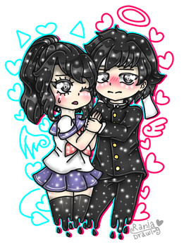 .: Ayano X Budo :. by Rania-The-Candy