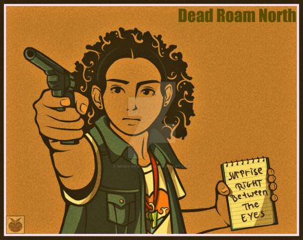 Dead Roam North Promotional Poster by Mobis-New-Nest