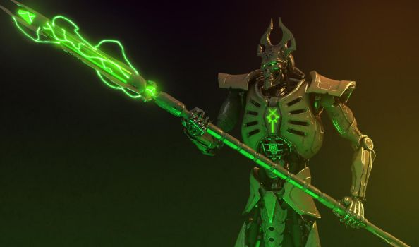 Necron lord #2 by Avitus12