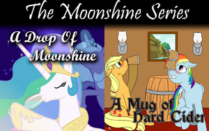 Moonshine Combined by PenStrokePony
