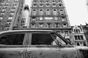 47 Studebaker and Landscape by steeber