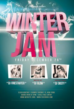 Winter Jam Flyer / Videoflyer by nadaimages