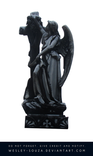 Angel Cemetery PNG by Wesley-Souza