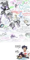 [HYUGE IMAGE] Class doodles... by Desdemonia
