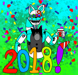 Happy New Year by bluthesnowleopord