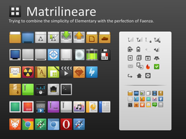 Matrilineare Icon Theme by sora-meliae