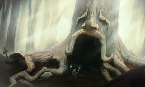 Forest Ancients by littlewati
