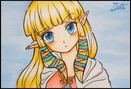 Zelda SS color by zilia-k