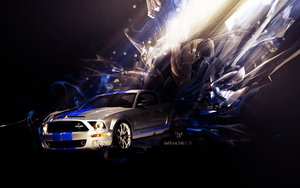 Ford Mustang Shelby gt500 by Artush