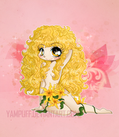 Colombe Chibi Commission by YamPuff