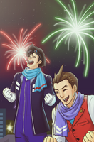 AA: IT'S NEW YEARS AND WE'RE FIIIINE!!! by nranola