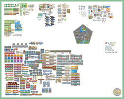 Pokemon Dawn Tileset - 2.5 by The-Red-eX