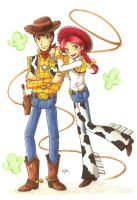 Round Up Pair of Justice by Aiko-Mustang