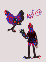 Anfisa The Chicken by snudder