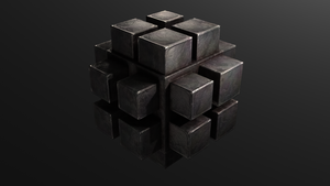 Metal ... cube ... thingy by Xels034