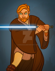 obiwan being cool by agiszszsz