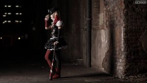 Harley Waits by MaiseDesigns