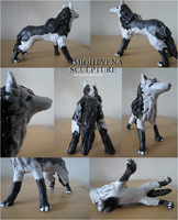 Mightyena Sculpture