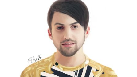 Mitch Grassi (from Pentatonix) in Photoshop CS5 by pinkbutterflly
