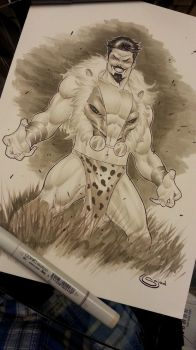 Kraven the Hunter w/copics by Sajad126