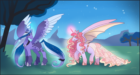 New Queens of Equestria by caiterprince