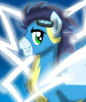MLPFIM - Soarin Icon Portrait by the-gneech