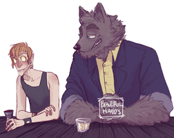 Wolf and I by BlooLemons