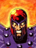 Magneto by arissuparmanart